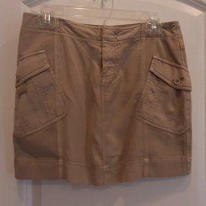 Marrakech  Anthropologie Khaki Skirt Size Small